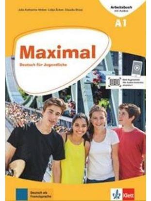 Εικόνα της MAXIMAL A1 ARBEITSBUCH (+mit Audios online + Klett Book-App)