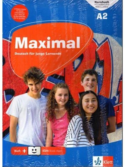 Εικόνα από MAXIMAL A2 KURSBUCH (+mit Audios und Videos online + Klett Book-App)