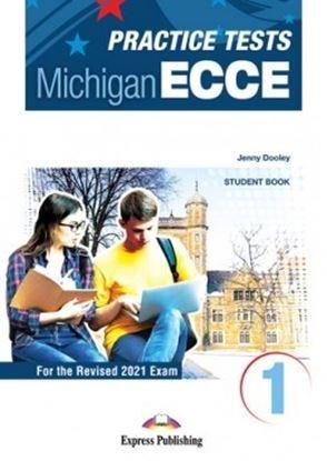 Εικόνα της PRACTICE TESTS FOR THE MICHIGAN ECCE 1 for the Revised 2021 Exam STUDENT'S BOOK WITH DIGIBOOK APP.