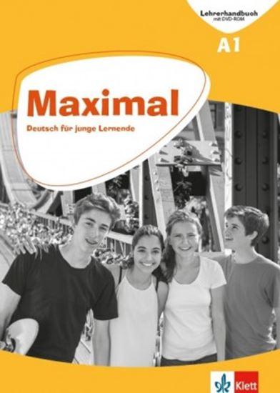 Εικόνα από MAXIMAL A1 KURSBUCH (+mit Audios und Videos online + KLETT BOOK-APP)