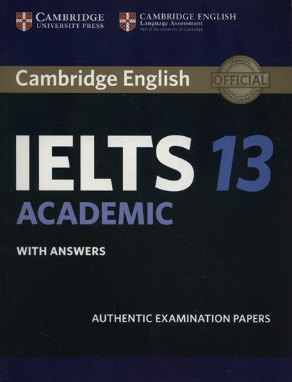 Εικόνα από CAMBRIDGE IELTS 13 ACADEMIC SB W/A