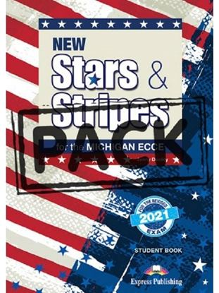Εικόνα της NEW STARS & STRIPES FOR THE MICHIGAN ECCE FOR THE REVISED 2021 EXAM JUMBO PACK