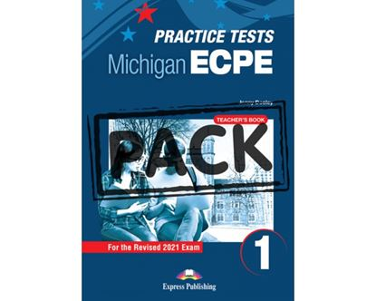 Εικόνα της NEW PRACTICE TESTS FOR THE MICHIGAN ECPE 1 TCHR'S (+ DIGIBOOKS APP) 2021 EXAM