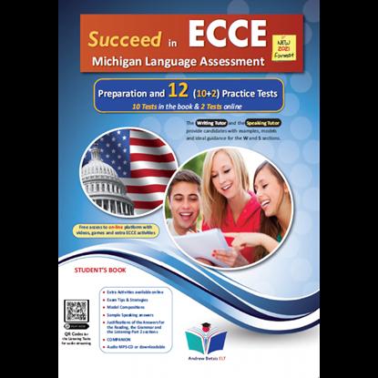Εικόνα της SUCCEED IN MICHIGAN ECCE 12 PRACTICE TESTS 2021 FORMAT