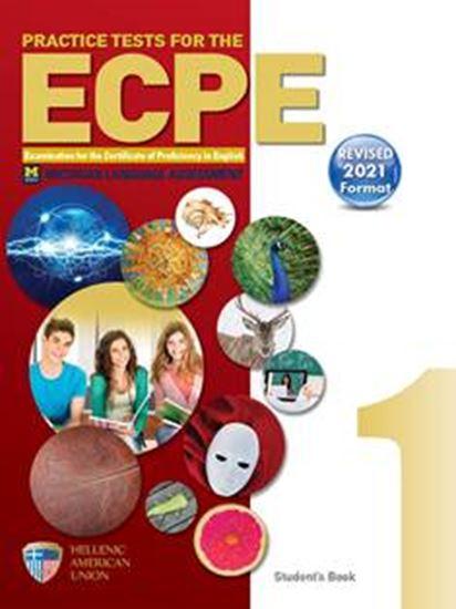 Εικόνα από Practice Tests for the ECPE, Book 1 (Revised 2021 Format)
