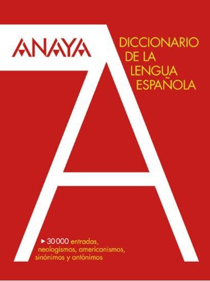 Εικόνα από Diccionario Anaya de la Lengua