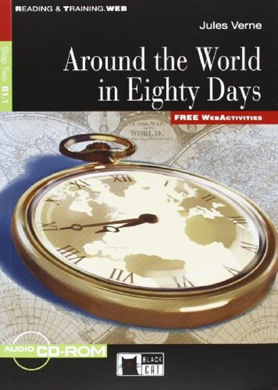 Εικόνα από R&T. 2: AROUND THE WORLD IN 80 DAYS B1.1 (+ CD + CD-ROM)