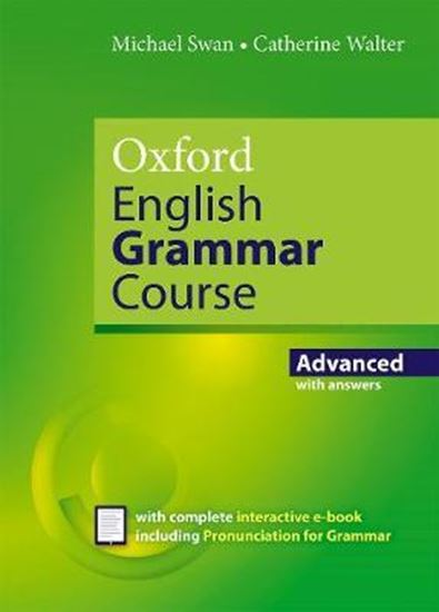 Εικόνα από ENGLISH GRAMMAR COURSE ADVANCED WITH KEY (+e-book)