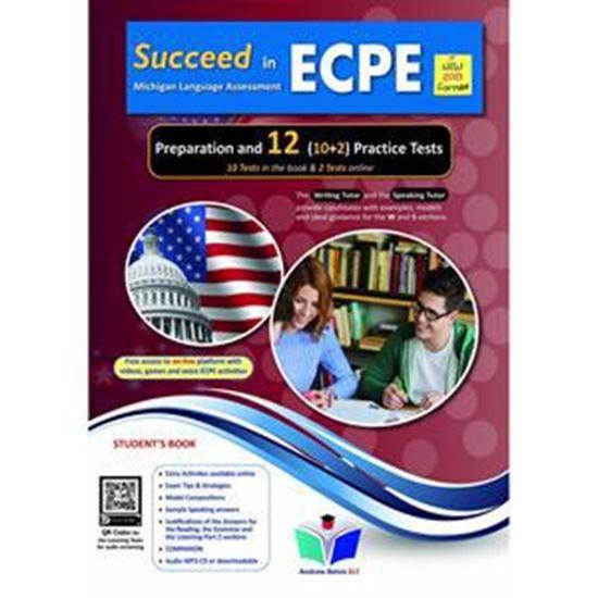 Εικόνα από SUCCEED IN ECPE PREPARATION & 12 PRACTICE TESTS STUDENT'S BOOK NEW 2021 FORMAT