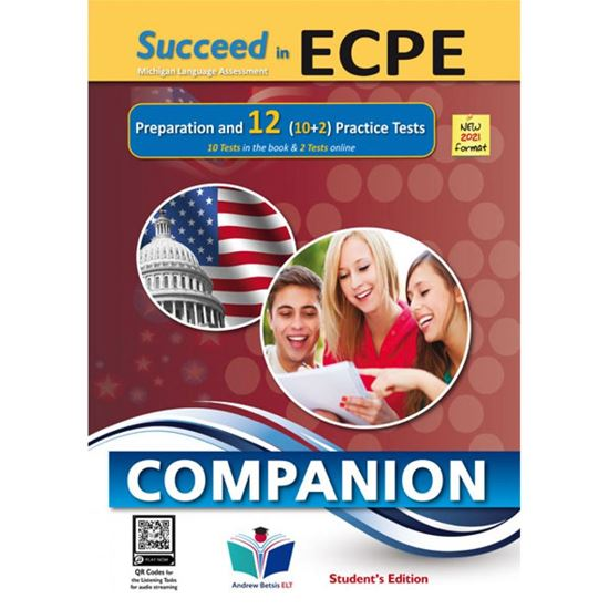 Εικόνα από SUCCEED IN ECPE PREPARATION & 12 PRACTICE TESTS COMPANION NEW 2021 FORMAT