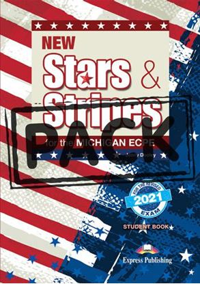 Εικόνα της NEW STARS & STRIPES FOR THE MICHIGAN ECPE STUDENT'S BOOK (+DIGI-BOOK) FOR THE REVISED 2021 EXAM