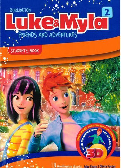 Εικόνα από LUKE & MYLA 2 STUDENT'S BOOK