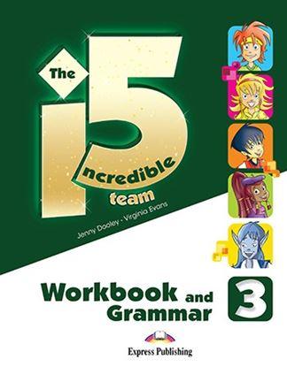 Εικόνα της INCREDIBLE 5 TEAM 3 WB GRAMMAR (+ DIGIBOOKS APP
