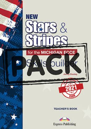 Εικόνα της NEW STARS & STRIPES FOR THE MICHIGAN ECCE FOR THE REVISED 2021 EXAM  SKILLS BUILDER T'S WITH DIGIBOOK APP.