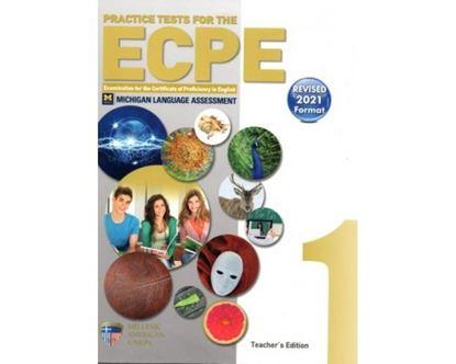Εικόνα της PRACTICE TESTS 1 ECPE TCHR'S REVISED 2021 FORMAT(+CD(8)