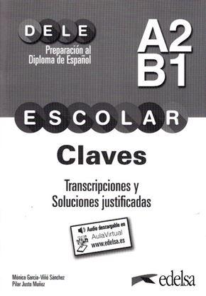Εικόνα της Dele A2/Β1 Escolar  - Claves + CD