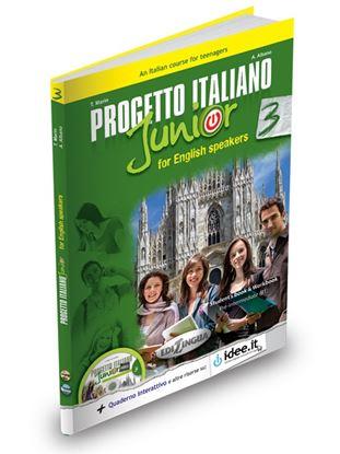 Εικόνα της PROGETTO ITALIANO JUNIOR 3 FOR ENGLISH SPEAKERS STUDENTE ED ESERCIZI (+DVD)