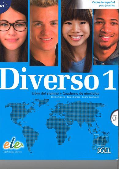 Εικόνα από DIVERSO 1  (ALUMNO+EJERCICIOS+CD)