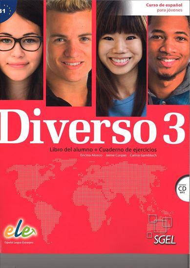 Εικόνα από DIVERSO 3  (ALUMNO+EJERCICIOS+CD)