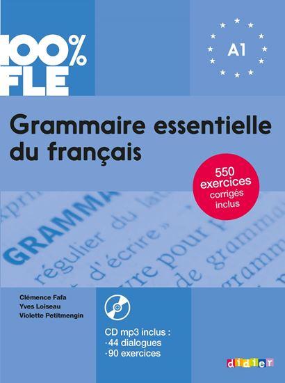 Εικόνα από GRAMMAIRE ESSENTIELLE DU FRANCAIS A1 (+ CD + CORRIGES)