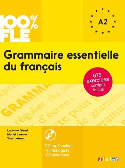 Εικόνα από GRAMMAIRE ESSENTIELLE DU FRANCAIS A2 (+ CD + CORRIGES)