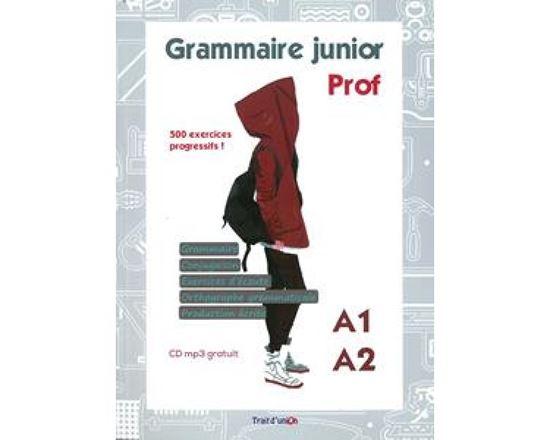 Εικόνα από GRAMMAIRE JUNIOR A1-A2 PROFESSEUR