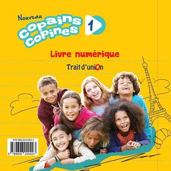 Εικόνα από NOUVEAU COPAINS COPINES 1 MANUEL NUMERIQUE