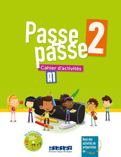 Εικόνα από Passe-passe 2 A1 : Cahier d'activites 2 + CD MP3