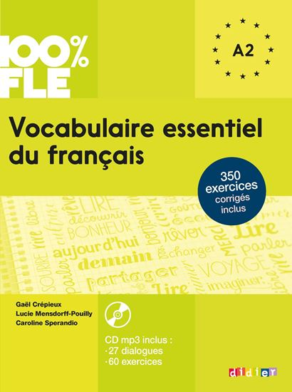 Εικόνα από VOCABULAIRE ESSENTIEL DU FRANCAIS & CD A1-A2