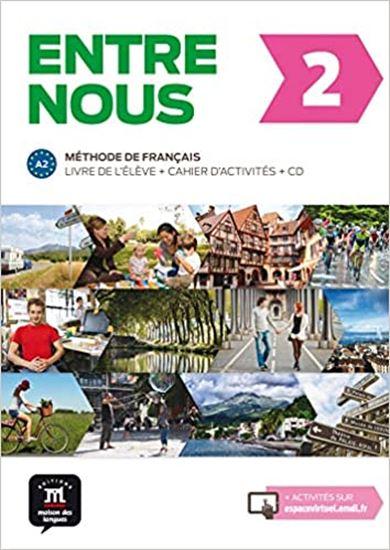 Εικόνα από ENTRE NOUS 2 LIVRE DE L ELEVE & CAHIER D ACTIVITES (+2CDs)