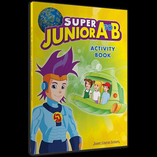 Εικόνα από SUPER JUNIOR A TO B ACTIVITY BOOK