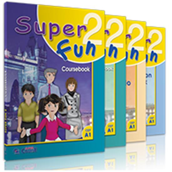 Εικόνα από SUPER FUN 2 ΠΑΚΕΤΟ ME I-BOOK + REVISION BOOK
