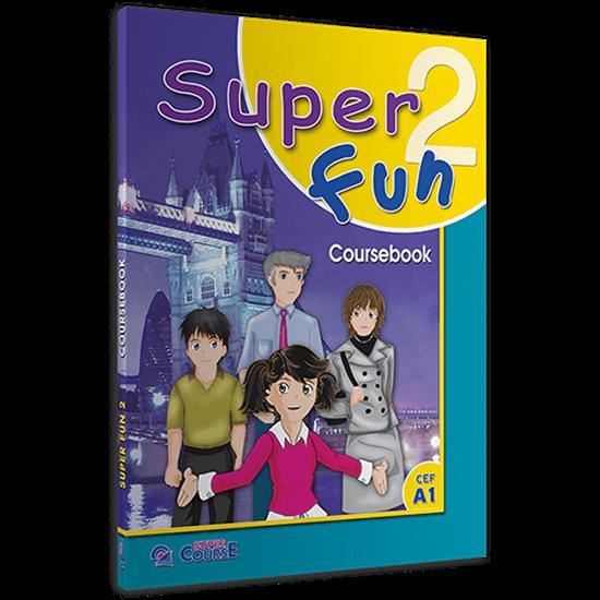 Εικόνα από SUPER FUN 2 COURSEBOOK (+ I-BOOK)