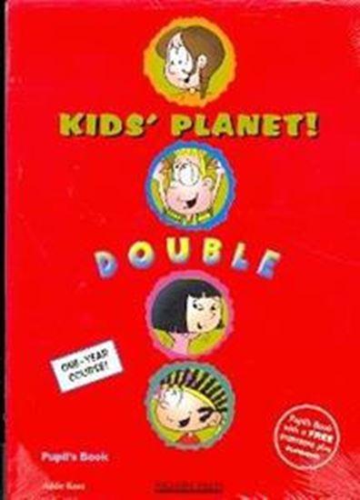 Εικόνα από KID'S PLANET DOUBLE STUDENT'S BOOK (+FUNBOOK)
