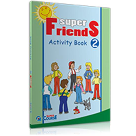 Εικόνα από SUPER FRIENDS 2 ACTIVITY BOOK