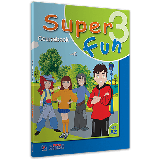 Εικόνα από SUPER FUN 3 COURSEBOOK (+ I-BOOK)