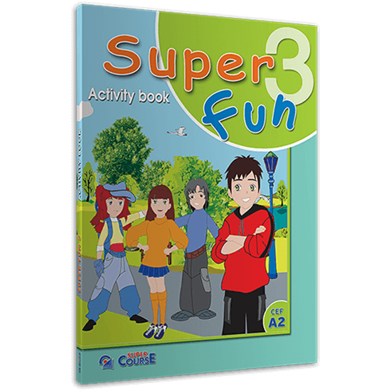Εικόνα από SUPER FUN 3 ACTIVITY BOOK