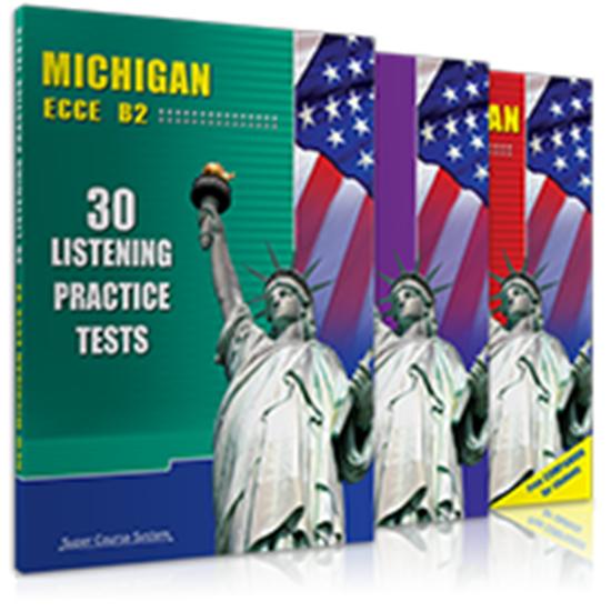 Εικόνα από MICHIGAN ECCE B2 ΒΑΣΙΚΟ ΠΑΚΕΤΟ (30 LISTEN. PR. TESTS + SPEAK YOUR MIND B2 + 20+4 PRACT. TESTS)