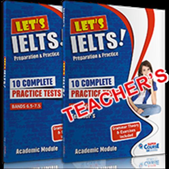 Εικόνα από LET'S IELTS! PREPARATION AND PRACTICE (10 COMPLETE PRACTICE TESTS) SELF STUDY EDITION (+ MP3)