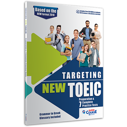 Εικόνα της TARGETING NEW TOEIC (PREPARATION & 7 PRACTICE TESTS, + CD-ROM) - NEW FORMAT 2018