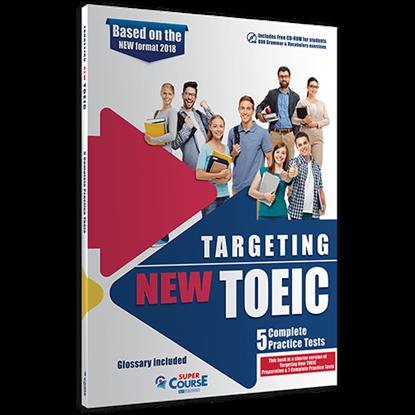 Εικόνα της TARGETING NEW TOEIC 5 COMPLETE PRACTICE TESTS (+ CD-ROM) 2020