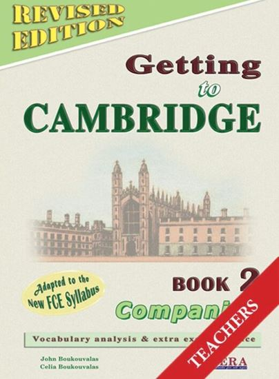 Εικόνα από GETTING TO CAMBRIDGE 2 REVISED TEACHER'S COMPANION