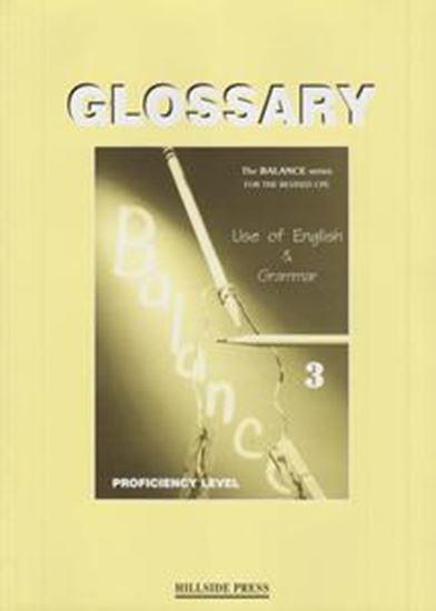 Εικόνα από BALANCE 3 (CAMBRIDGE PROFICIENCY USE OF ENGL) GLOSSARY