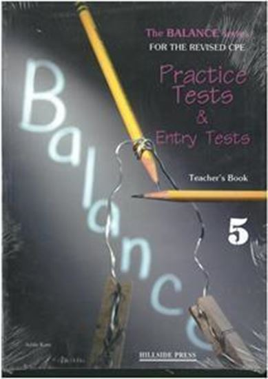 Εικόνα από BALANCE 5 (CAMBRIDGE PROFICIENCY PRACTICE TESTS) TEACHER'S