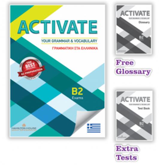 Εικόνα από ACTIVATE YOUR GRAMMAR & VOCABULARY B2 ΣΤΑ ΕΛΛΗΝΙΚΑ