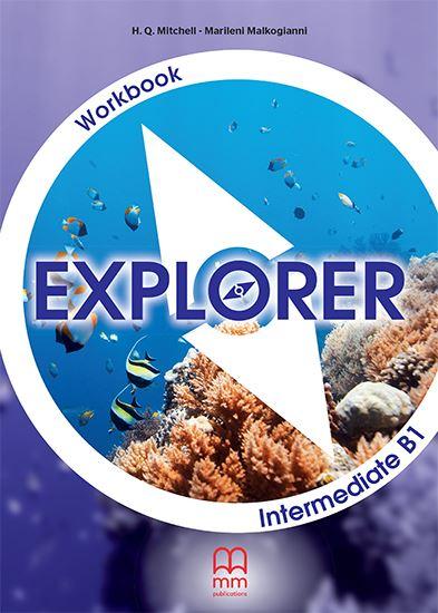 Εικόνα από EXPLORER Intermediate B1 Workbook (with CD)