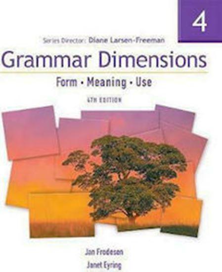 Εικόνα από GRAMMAR DIMENSIONS 4 STUDENT'S BOOK 4TH ED