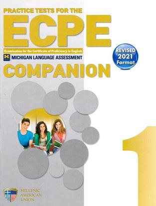 Εικόνα της PRACTICE EXAMINATIONS BOOK 1 ECPE COMPANION REVISED 2021 FORMAT