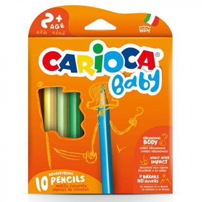 Εικόνα της Ξυλομπογιές Carioca Baby 10τεμ 42819