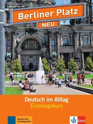 Εικόνα της BERLINER PLATZ NEU EINSTIEGSKURS DEUTSCH IM ALTAG (+2CD's)